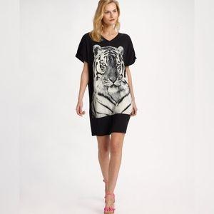 STELLA MCCARTNEY tiger print tunic tee dress